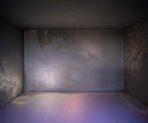 Smoking Translucent Concrete Pavilion