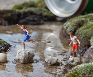 Slinkachu's Miniature Street Installations