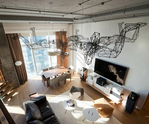 Birdman's House Apartment Moscow by ARCHI TE KTO