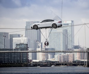 2016 Jaguar FX Unveiled Suspended Above London