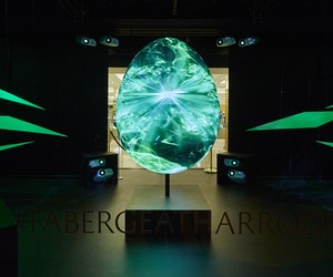 Fabergé Interactive Egg Installation at Harrods