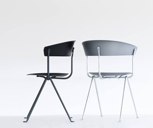 Officina Chair + Stool by Bouroullec for Magis