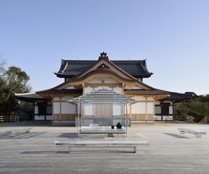 Tokujin Yoshioka's KOU-AN Glass Tea House