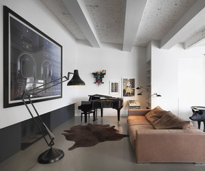 Photographer's Loft by Bruzkus Batek Architekten
