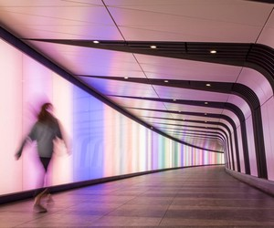 Kings Cross Pedestrian Tunnel with Lightwall