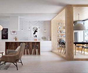 Saint-Petersburg Apartment by INT2 Architecture