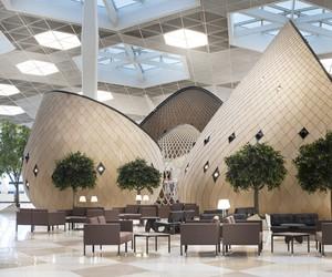 Heydar Aliyev New International Airport terminal