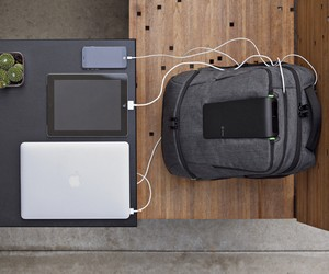Laptop Backpack with Buil-In Power Station