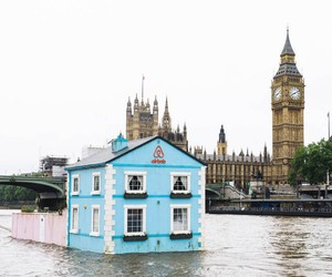 Airbnb's Floating House on London's River Thames
