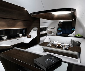 Mercedes & Lufthansa Develop VIP Aircraft Cabin
