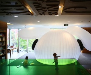 'Wonderland' Flexible Reading Space by MAD