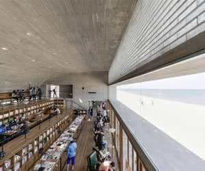 Vector Designs A Seaside Library in China