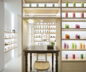 Beauty Library Aoyama Concept Store by nendo