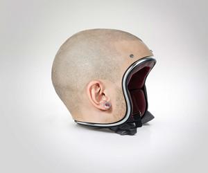 Custom Made Human Head Helmets