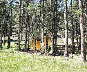 stpmj's Invisible Barn at Tahoe National Forest
