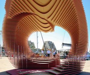 The PortHole Pavilion by TOMA!