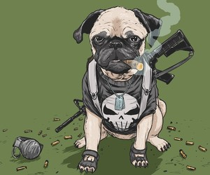 """Dogs of the Marvel Universe"" by  Josh Lynch"