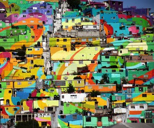 Germen Crew Turns Mexican Village into a Rainbow