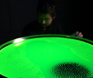 Save Lab Visualizes Brain Waves with Liquid