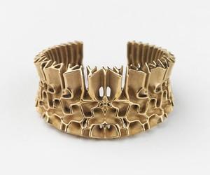 Francis Bitonti Gold-Plated 3D Printed Jewels