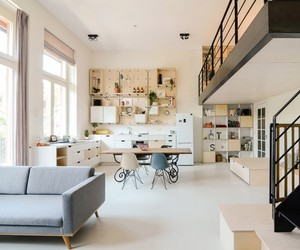 Amsterdam's Old School Converted into Apartment