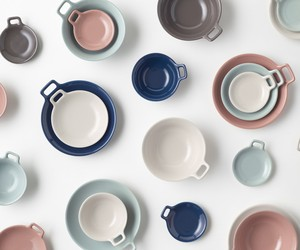 nendo's Totte-Plate Tableware Collection