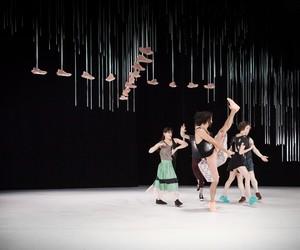 88888 hanging installations for Daniel Linehan