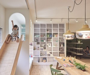 HAO design puts a playground within an apartment