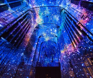 Miguel Chevalier's Immersive Projections
