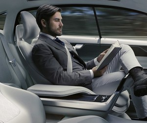 Volvo Unveils Concept 26 Self-Driving Car