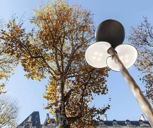 Mathieu Lehanneur' Solar-Powered Street Lamps