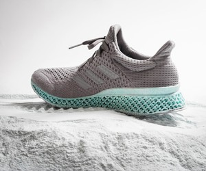 adidas' 3D-Printed Shoe Made From Plastic Waste