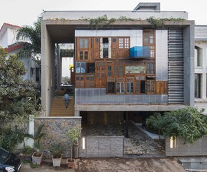 Collage House by S+SP Architects, Mumbai