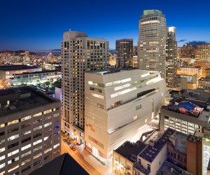 First Look at new SFMOMA by snøhetta