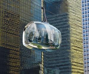 Chicago Skyline Aerial Cable Car