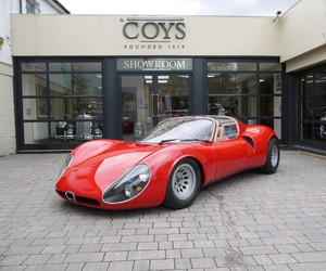 Alfa Romeo 33 Stradale Goes Up To Auction