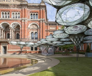 Elytra Filament Pavilion Opens at the V&A