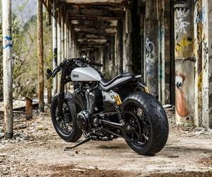 Yard Built XV950 Speed Iron by Moto di Ferro