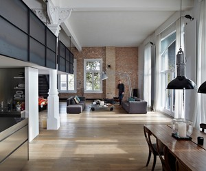 Canal House in Amsterdam by Witteveen Architecten