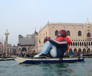 Inflatable Refugee by Schellekens & Peleman