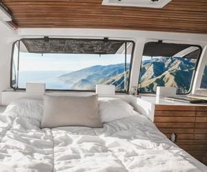 Filmmaker Turns Van Into A Living Studio Space