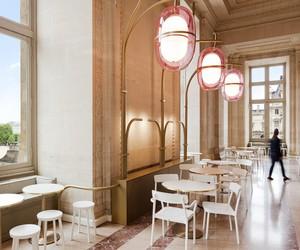 Louvres' Café Mollien by Mathieu Lahanneur
