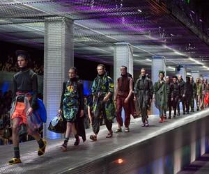 AMO x Prada's ss17 menswear show in Milan