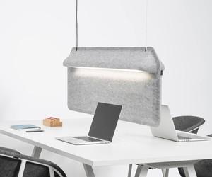 De Vorm AK 2 Workspace Divider Lamp