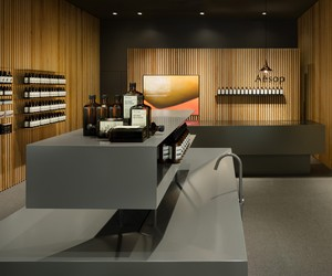 Aesop Sendai Parco 2 by Torafu Architects