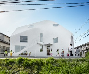 Clover House kindergarten by MAD Architects