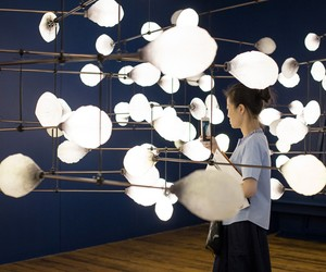 mischer'traxler's installation at London Biennale