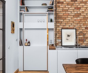 Brew Box Pad apartment by Itay Friedman Architects