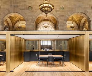 Henri Cleinge designs Crew Collective offices