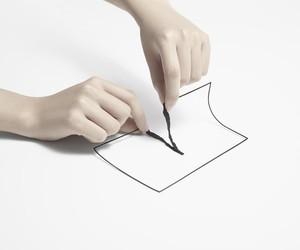 nendo's un-printed material exhibition in Tokyo